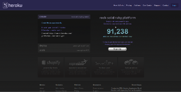 Heroku Ruby on Rails Hosting